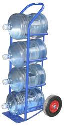 Тележка двухколесная для перевозки баллонов с водой ВД 4 (Россия)