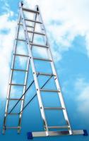Алюминиевая двухсекционная универсальная лестница