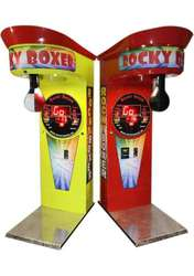 Аттракцион-силомер боксер Rocky Boxer