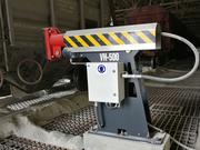 Виброразгружатель VH-500 - уплотнение груза при загрузке вагонов